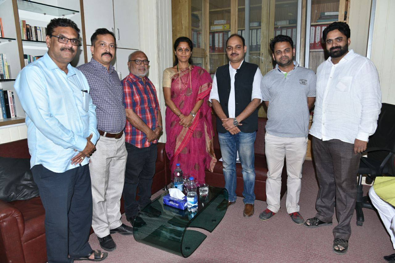 Supriyataai gave best wishes to team AIFF and also gave special thanks to Hon. Kagliwal and Hon. Kadam sir